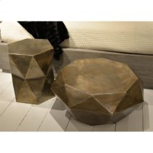 Coffee Table - Hammered Gold Finish