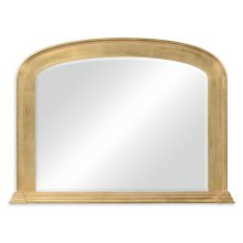 Victorian Style Gilded Overmantle Mirror