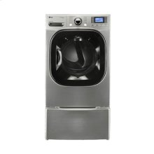 7.4 cu.ft. Ultra-Large Capacity SteamDryer™ with NeveRust™ Stainless Steel Drum and LCD Display (Electric)