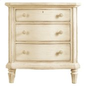 European Cottage - Night Stand In Vintage White