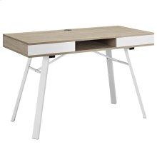 Stir Office Desk in Oak