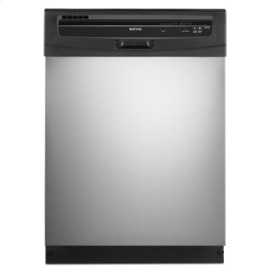 Stainless Steel Maytag(r) Jetclean(r) Plus Dishwasher With High Temperature Wash Option
