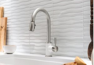 Blanco Sonoma With Pull-down Spray 1.5 Gpm Silgranit - White