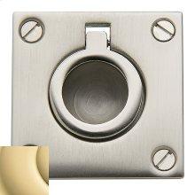 Polished Brass Flush Ring Pull