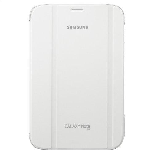 Galaxy Note 8.0 Book Cover - White