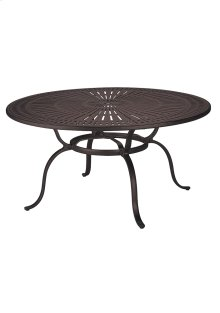 "Spectrum 49"" Round KD Dining Umbrella Table"