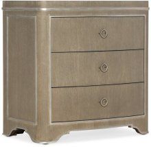 Modern Romance Three-Drawer Nightstand