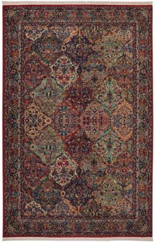 Multicolor Panel Kirman Multi Rectangle 5ft 9in X 9ft