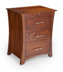 Loft Deluxe Nightstand with Drawers