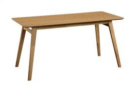 """Emerald Home Simplicity Rectangular Dining Table 60x28x30"""" Natural D546-16"""