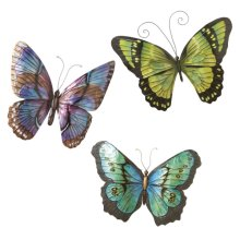 Wall Decor Butterfly (3 asstd)