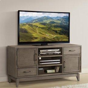 Vogue - 54-inch TV Console - Gray Wash Finish