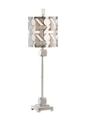 Hutton Slim Lamp - Nickel