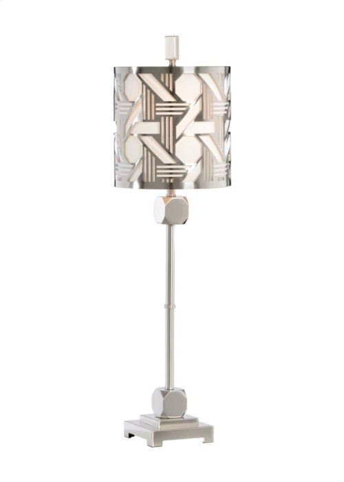 Hutton Slim Lamp - Nickel