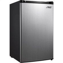 Arctic King 4.5 Cu. Ft. Compact Refrigerator - Stainless Steel Look