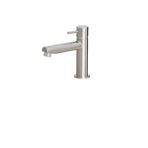 Small single-hole lavatory faucet
