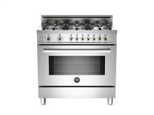 FLOOR MODEL 36 6-Burner, Electric Self-Clean Oven Stainless