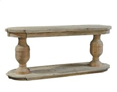 Double Pedestal Console Product Image