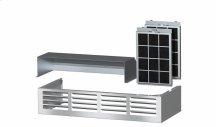 DRUU 30 Air recirculation kit Kit for conversion of a Range Hood to recirculation operation.