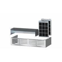 DRUU 30 Air recirculation kit Kit for converting a Range Hood to recirculation mode.