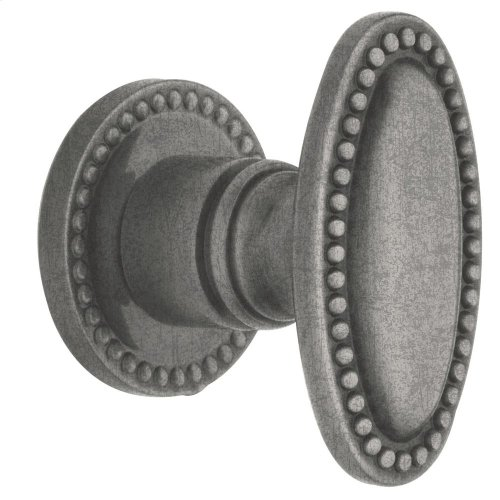 Distressed Antique Nickel 5060 Estate Knob