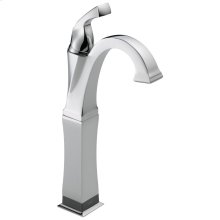 Chrome Single Handle Vessel Lavatory Faucet with Touch 2 O. xt ® Technology