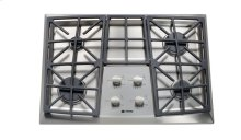 """Stainless Steel 30"""" Gas 4 - Burner Front Control"""