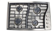 "Stainless Steel 30"" Gas 4 - Burner Side Control"