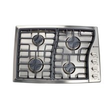 """Stainless Steel 30"""" Gas 4 - Burner Side Control"""