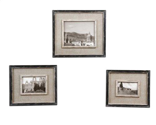 Kalidas Photo Frames, S/3