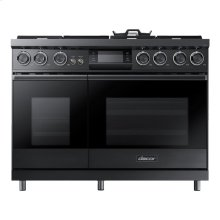 """48"""" Pro Dual-Fuel Steam Range, Stainless Steel, Natural Gas/High Altitude"""