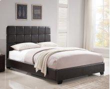 Kenora Platform Bed - King, Brown