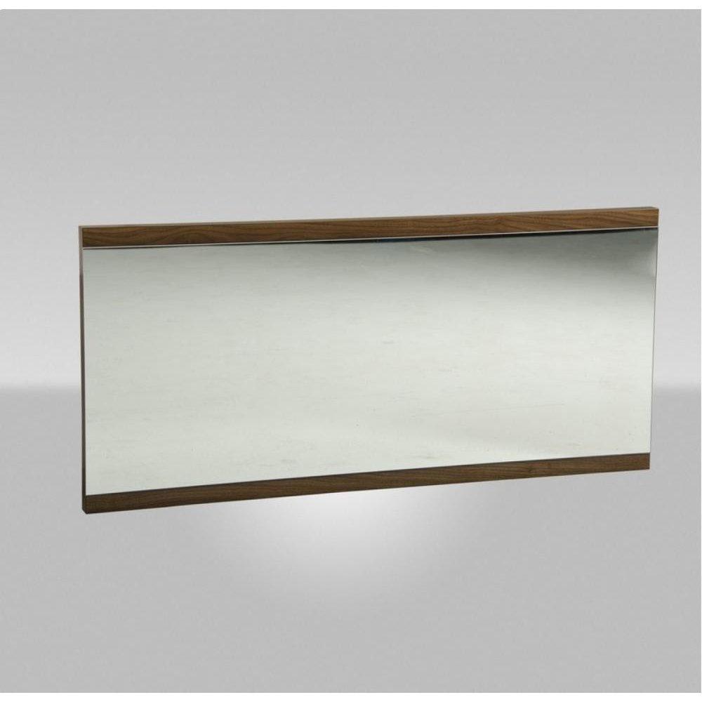 Modrest Rondo Modern Walnut Mirror