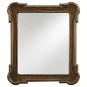 European Farmhouse - Captain's Fluted Edge Mirror In Blond