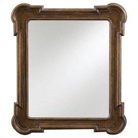European Farmhouse - Captain's Fluted Edge Mirror In Blond