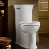 Tropic FloWise Right Height Elongated One-Piece Toilet - 1.28 GPF - White