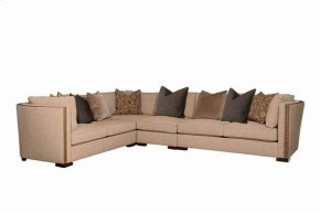 Madison Bourbon Left Arm Facing/right Arm Facing Loveseat and Corner Wedge