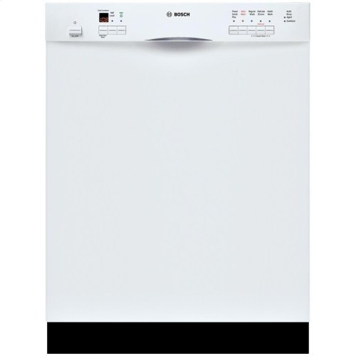 24 '' Recessed Handle Dishwasher 500 Series- White SHE55M12UC