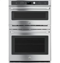 GE Caf(eback) Series 30 in. Combination Double Wall Oven with Convection and Advantium® Technology