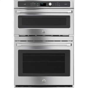 GEGE Cafe™ Series 30 in. Combination Double Wall Oven with Convection and Advantium® Technology
