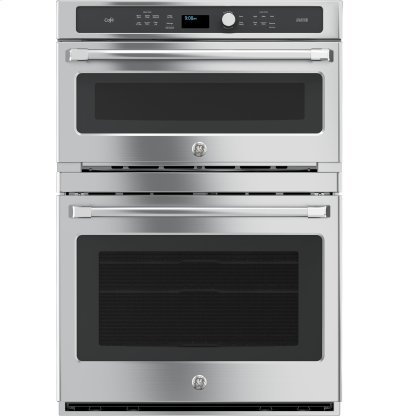 GE Cafe™ Series 30 in. Combination Double Wall Oven with Convection and Advantium® Technology Product Image