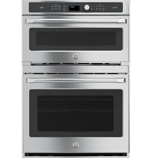 GE Cafe™ Series 30 in. Combination Double Wall Oven with Convection and Advantium® Technology