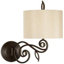 Garden Symphony Swing Arm Wall Lamp