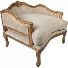 Duchess Brisée Chaise Lounge Footstool
