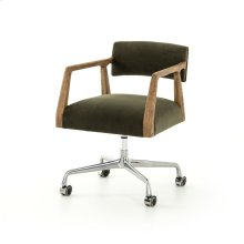 Modern Velvet Loden Cover Tyler Desk Chair