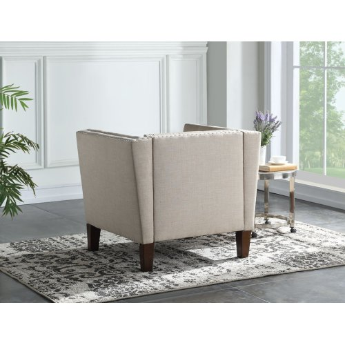 """Campbell Accent Chair - Sand 35"""" x 30"""" x 30"""""""