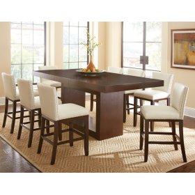 "Antonio Counter Table Top, 44""x 70""x88"" w/18"" Leaf"