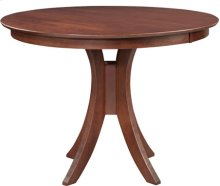 "Siena 48"" Pedestal Table w/ 36"" Base Espresso"