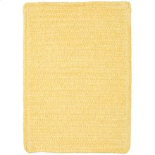 Yellow Chenille Creations Cross Sewn Rectangle
