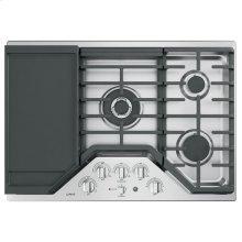 "GE Cafe™ Series 30"" Built-In Gas Cooktop"
